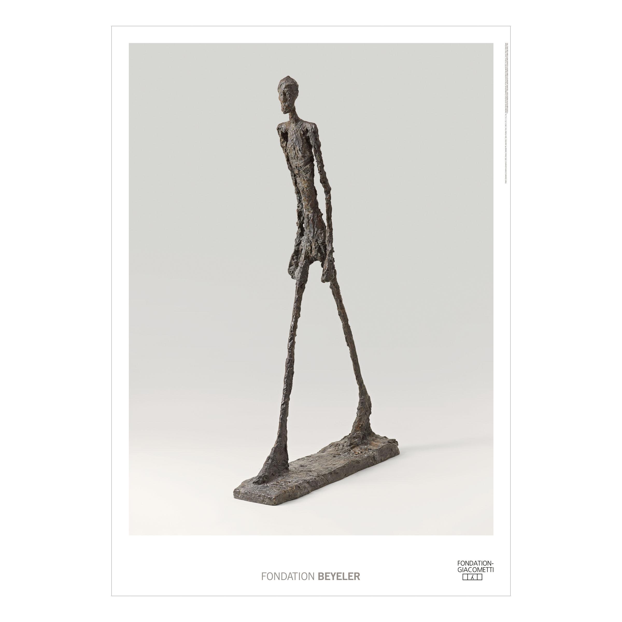 Alberto Giacometti - L'Homme qui marche II, 1960 ...