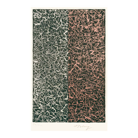 Mark Tobey<br>Half and Half, 1970