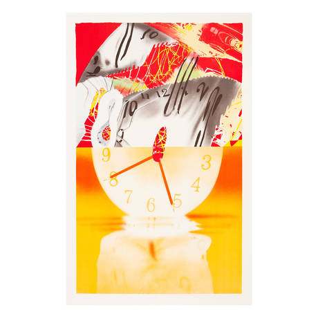 James Rosenquist<br>Hole in the Center of the Clock, 2007