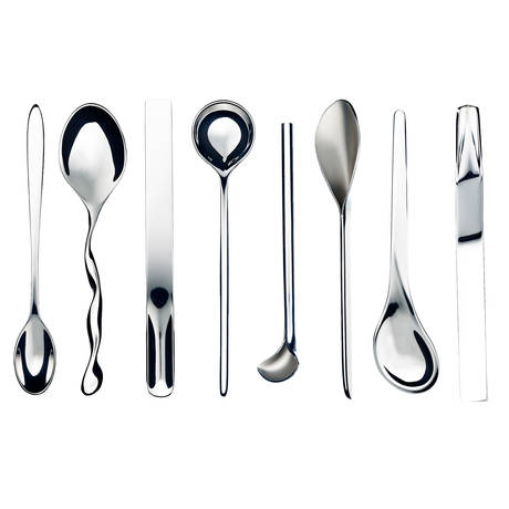 Set of 8 coffee spoons
