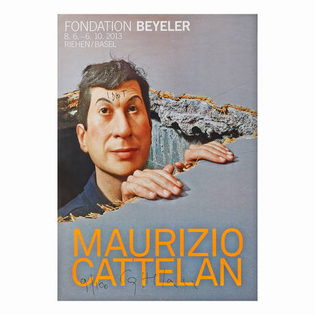 Maurizio Cattelan<br>Poster