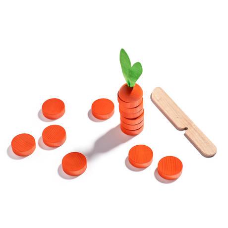 Game 'Chop the Carrot', wood | Fondation Beyeler Shop