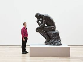 PUBLIC GUIDED TOUR – RODIN/ARP – IN GERMAN