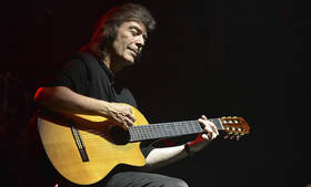 An intimate evening with Steve Hackett